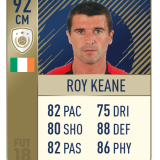 Roy Keane FIFA 18 FUT Icon