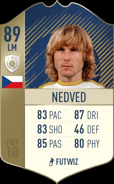 Nedved FIFA 18 FUT Icon