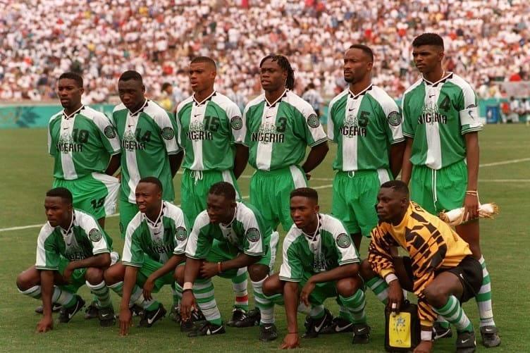 Nigeria 1996 Olympics Team