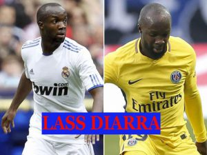 Lass Diarra played with Real Madrid and PSG