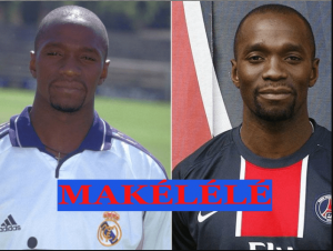Makelele played with Real Madrid and PSG