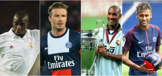 Players who have played for both Real Madrid and PSG