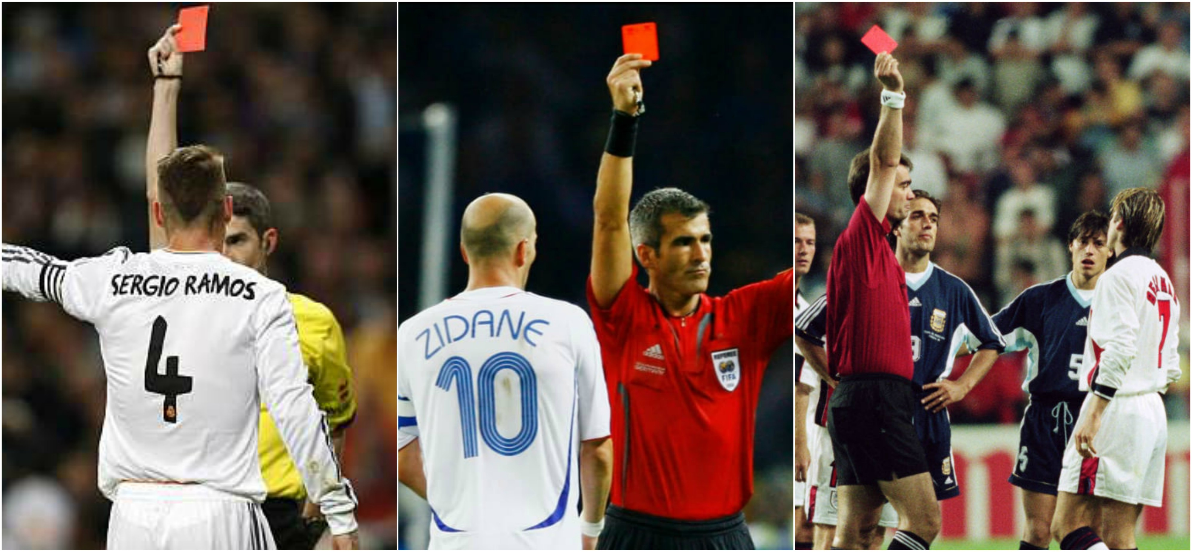 Soccer Players with more Red Cards