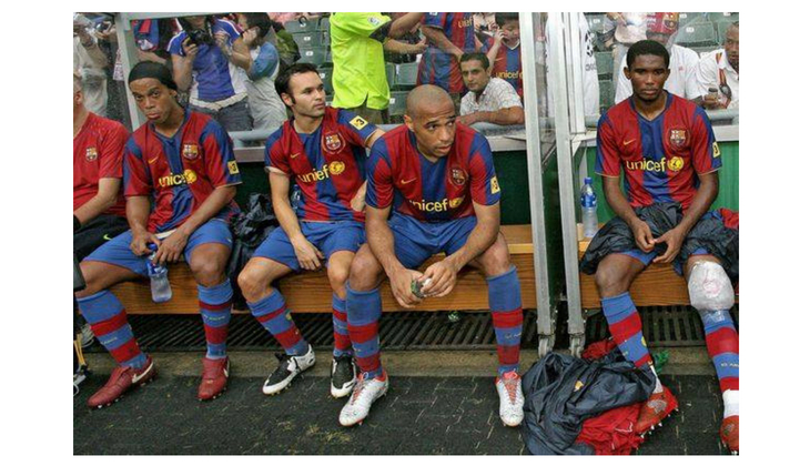 Barcelona Bench in the Far East Asia tour in 2007