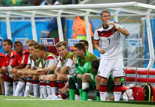 Germany Bench World Cup 2014
