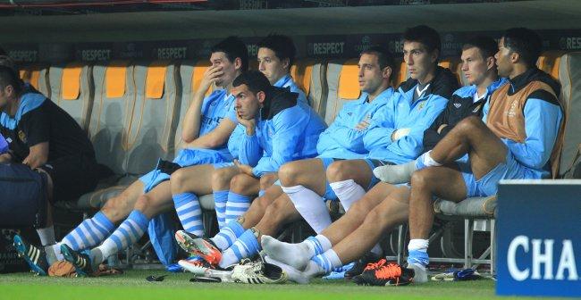 Manchester City 2012 Bench