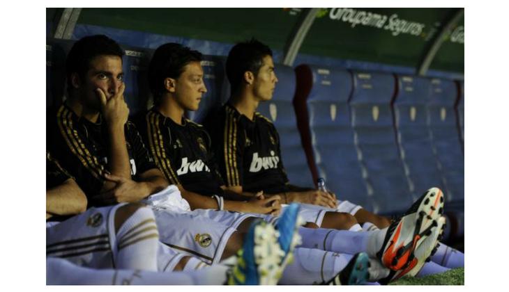 Higuain, Ozil and Cristiano Ronaldo