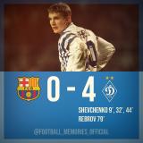 Barcelona Dynamo Kiev 0-4